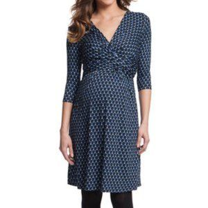 SERAPHINE | Maternity Bubble Print Dress Size 6
